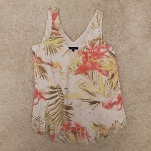 RW&Co Floral Tank blouse
